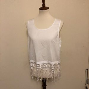 Cute sheer top, and very good condition
